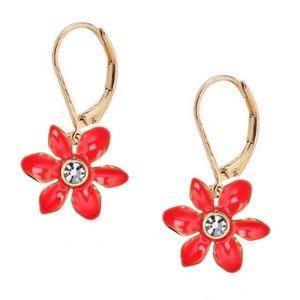 KATE SPADE • Lovely Lillies Drop Earrings